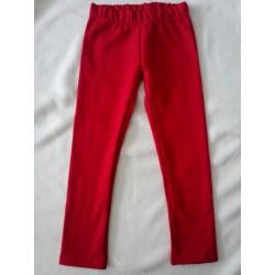 Leginy Kapsa 152-164 červená