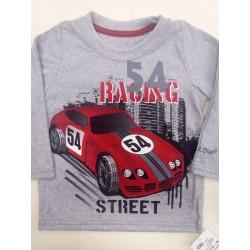 Tričko Auto 54 Šedé