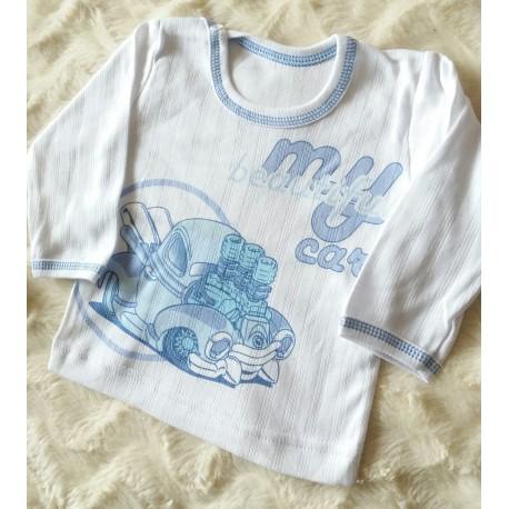 Kojenecké tričko Bobík mílá/modrá