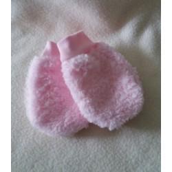 Teploučké rukavičky TON růž