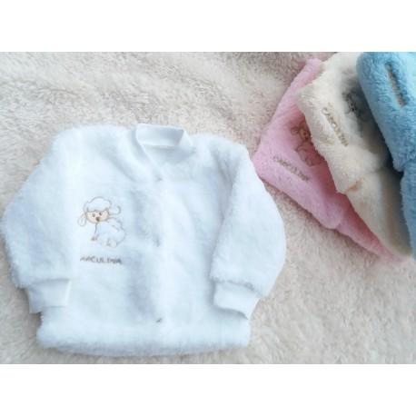 Teploučký kabátek Ton (bílý)
