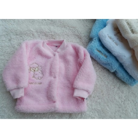 Teploučký kabátek Ton (růžový)