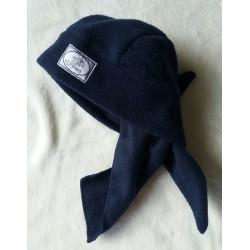 Zimní fleecový šátek modrý