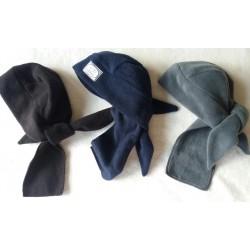 Zimní fleecový šátek hnědý