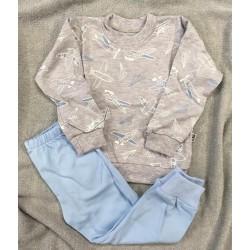 Pyžamko Malé ero sv.modrá