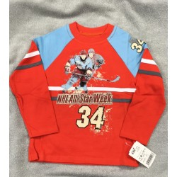Tričko Hokejista červené