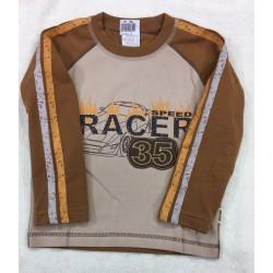 Tričko RACE sv.hnědá