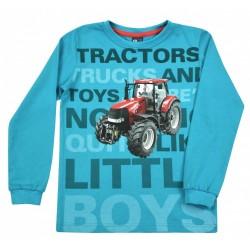 Tričko Červený traktor 3D potisk
