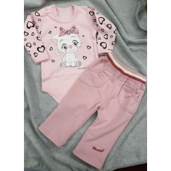 Kalhoty Nikolka tepl. růžová