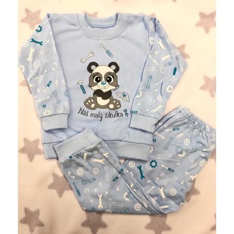 Pyžamo Náš Šikulka modrá
