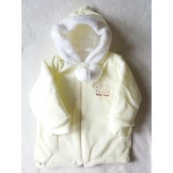 Zimní fleecová bunda Bambulín sv. žlutá POSLEDNÍ KOUSKY!!