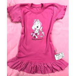 Noční košilka Naše Princezna tm.růž