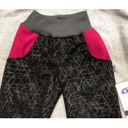 Softshellové kalhoty Týna/vzor 98-110