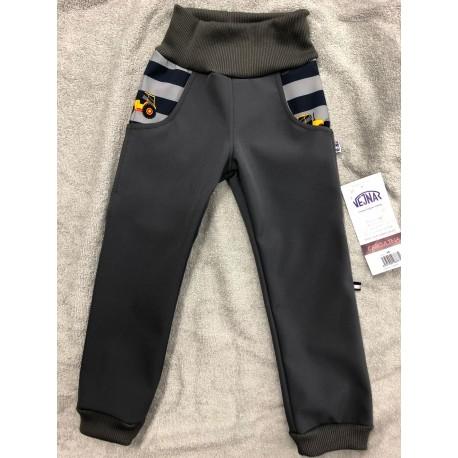 Softshellové kalhoty Bagry 98-110
