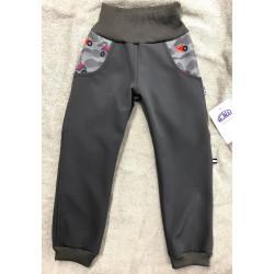 Softshellové kalhoty Auťák 116-128