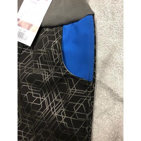Softshellové kalhoty Vzor/modrá 116-128