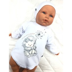 Body Náš maličký Dáreček bílá