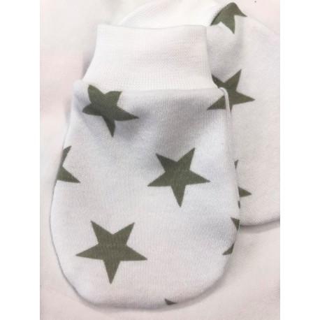 Adámek- Luxusní bavlněné rukavičky hvězda