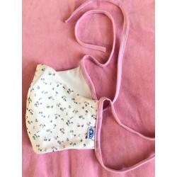 Damen Schutzmasken Blumen altes rosa :) mit oder ohne Tasche