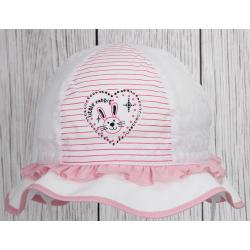 Dívčí klobouček Klárka sv.růž