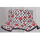Dívčí klobouček Matylda červená