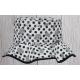 Dívčí klobouček Matylda šedá