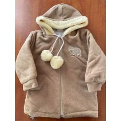 Zimní fleecová bunda Bambulín béž POSLEDNÍ KOUSKY!!