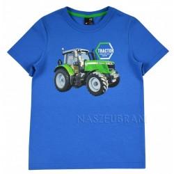 Tričko Traktor modrá
