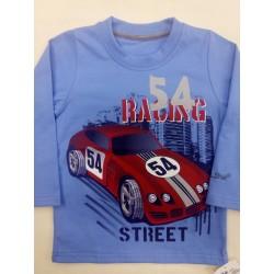 Tričko Auto 54 modré