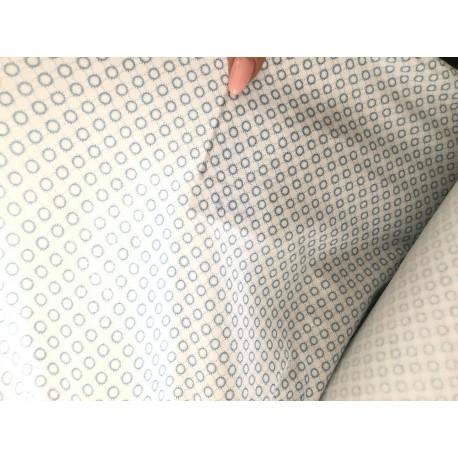 Látka Sofie - kolečka 100% bavlna