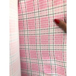 Látka Kostička růžová100% bavlna, úplet