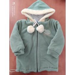 Zimní fleecová bunda Bambulín POSLEDNÍ sv.béž KOUSKY!!