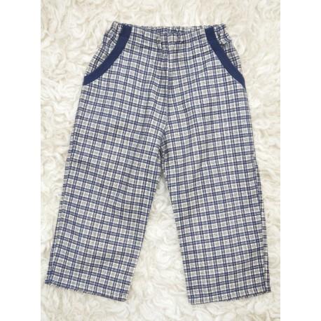Kalhoty flanel Kostkáče