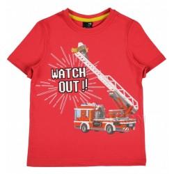 Tričko Hasiči červená