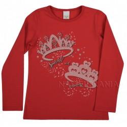 Halenka, tričko Diadém červená