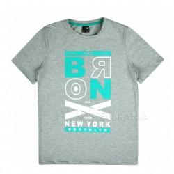 Tričko chlapecké BRONX šedá 152-164