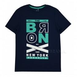 Tričko chlapecké BRONX modrá 152-164